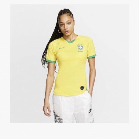 BRASIL 2019 Stadium HOME Tee shirt Womens