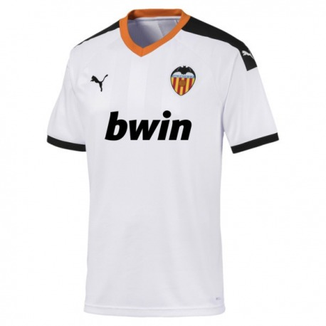 Camiseta de la 1ª Equipación de réplica del VALENCIA CF 2019-20 Puma