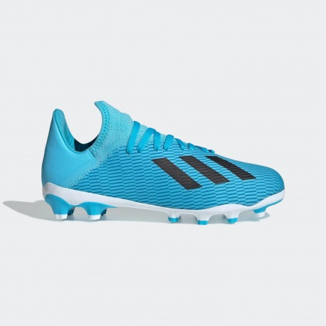 ADIDAS X 19.3 MG FOOTBALL BOOTS Junior - HARDWIRED PACK