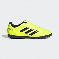 ADIDAS COPA 19.4 Turf FOOTBALL BOOTS Junior - HARDWIRED PACK