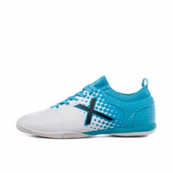 MUNICH TIGA INDOOR 33 white-turquoise Indoor Football Shoes