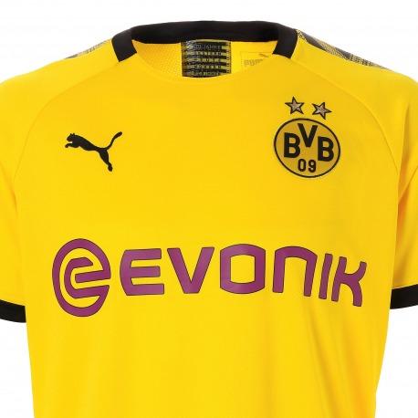 size 40 0ac39 88105 HOME Replica BVB Tee shirt 2019-20 - Puma