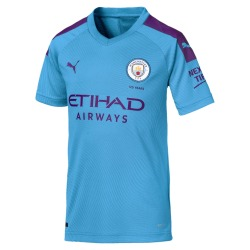 HOME Replica MANCHESTER CITY FC Tee shirt 2019-20 Kids - Puma