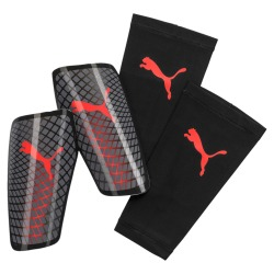 Puma Standalone Shin guards castle rock-nrgy red