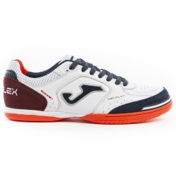 JOMA TOP FLEX 922 White-Navy Indoor Football Shoes