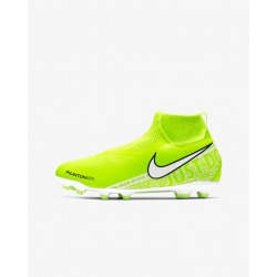 Botas de fútbol NIKE JR PHANTOM VISION ACADEMY DF FG-MG Junior - New lights pack