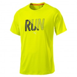 RUNNING T-SHIRT MAN PUMA L YELLOW