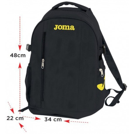 MOCHILA JOMA BAG ESTADIO II BLACK