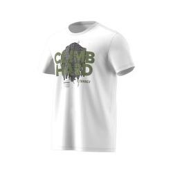 ADIDAS CLIMB HARD TEE WHITE T-SHIRT