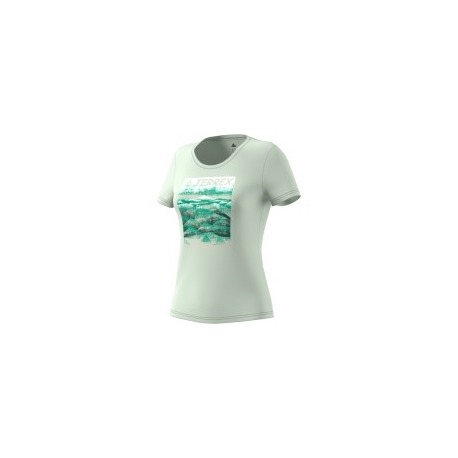 CAMISETA ADIDAS W MOUNTAIN TEE VERLIN