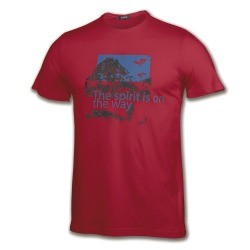 JOMA OUTDOOR RED T-SHIRT