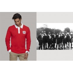 Retro Polo from FRANCE 1906 long sleeve Coolligan brand