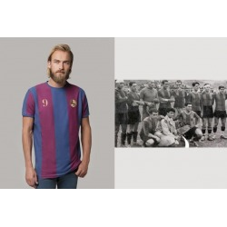 Retro Football Shirt COOLLIGAN Vintage BLAUGRANA 1898 short sleeve