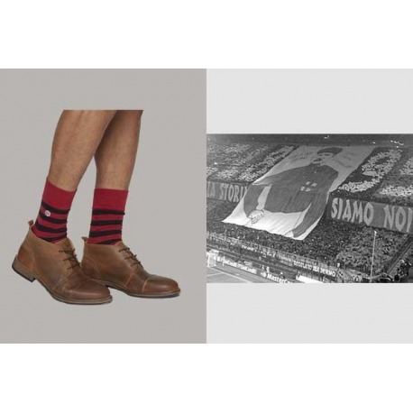 Calcetines COOLLIGAN Vintage ROSSONERI 1899