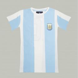 Camiseta Retro de fútbol COOLLIGAN de MARADONA de 1986 manga corta