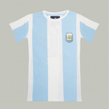 Camiseta Retro de fútbol de MARADONA de 1986 manga corta