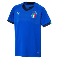 Official Home jersey of the ITALY National Team Junior