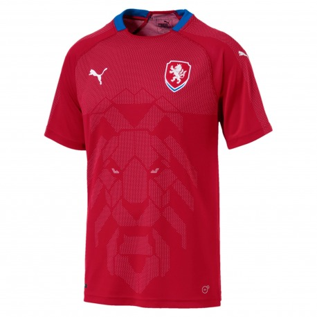 CAMISETA SELECCION de la REPUBLICA CHECA PUMA 89522fcc552c1