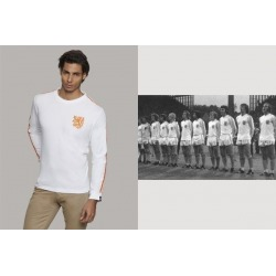 Camiseta COOLLIGAN Vintage HOLANDA AWAY 1.974 manga Larga