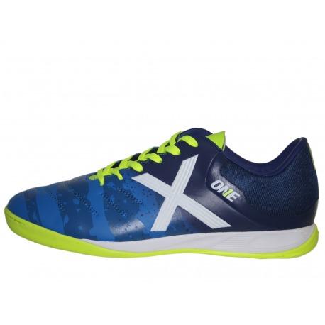 74d4aa8eda971 Zapatillas de futbol sala MUNICH ONE INDOOR azul