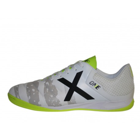 Zapatillas de futbol sala MUNICH ONE INDOOR blanco