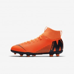 NIKE JR Football Boots. MERCURIAL SUPERFLY VI CLUB MG
