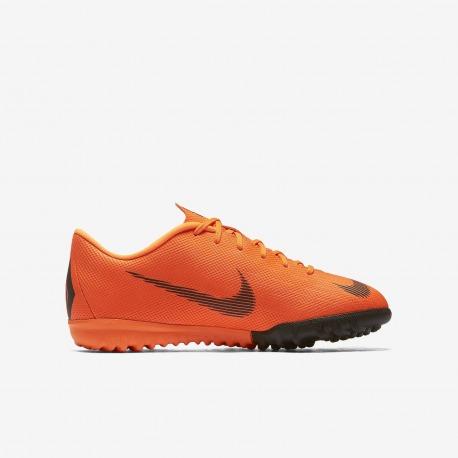 NIKE JR Football Boots. MERCURIALX VAPOR XII ACADEMY