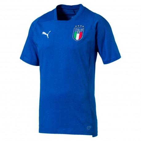 Selección de Italia FIGC Camiseta de estilo casual