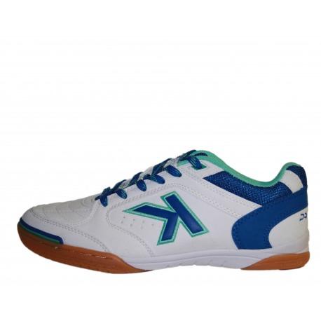 Zapatillas de Fútbol Sala Kelme Precision color Blanco/Royal