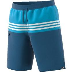 Adidas core blue swimsuit