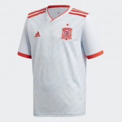 Official jersey of the SPANISH National Team of Football Away 17/18 Junior DIDAS