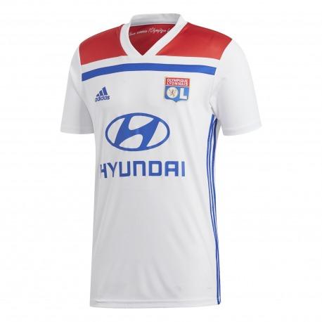 segunda equipacion Olympique Lyonnais chica