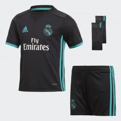 MINI CONJUNTO REAL MADRID 2ª EQUIPACION 2017/2018