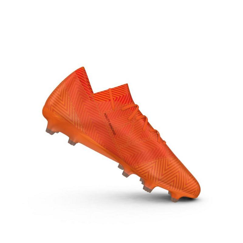 reputable site b4b93 1c88f ... Botas de Fútbol ADIDAS NEMEZIZ 18.1 FG Naranja ...