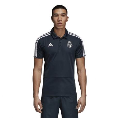 POLO REAL MADRID 18/19 Negro - Adidas