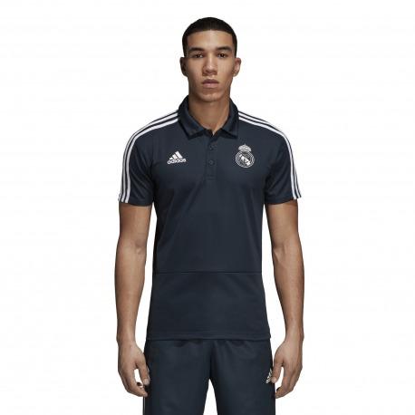 d9c4fad7f2f35 POLO REAL MADRID 18 19 Negro - Adidas