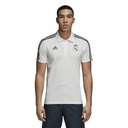 POLO REAL MADRID 18/19 Blanco - Adidas