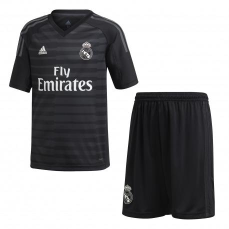 Mini Kit Goalkeeper Home REAL MADRID 18/19