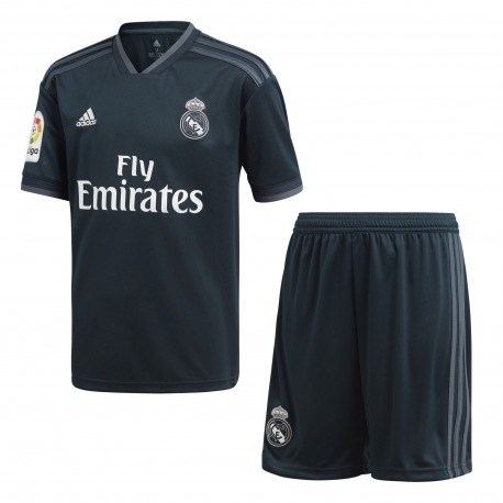MINI CONJUNTO 2ª EQUIPACION REAL MADRID 18/19