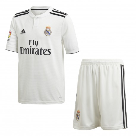MINI CONJUNTO 1ª EQUIPACION REAL MADRID 18/19