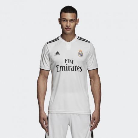 dc2f54e18ccab Camiseta 1ª Equipación REAL MADRID 18 19 Adidas