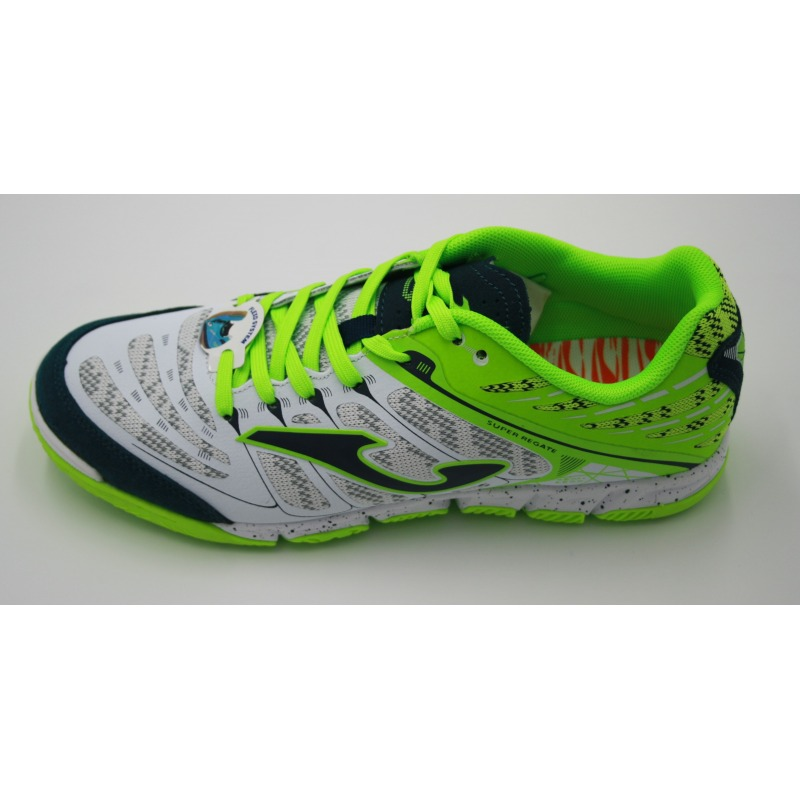 9bb955765 ... JOMA SUPER REGATE 832 White-Fluor Indoor Football Shoes