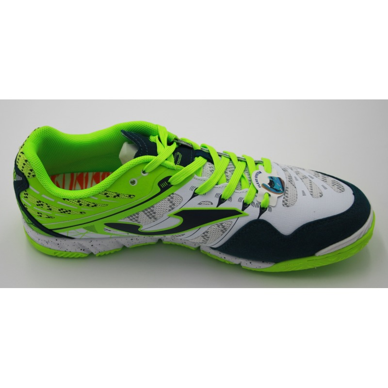 95d450b29 ... JOMA SUPER REGATE 832 White-Fluor Indoor Football Shoes ...
