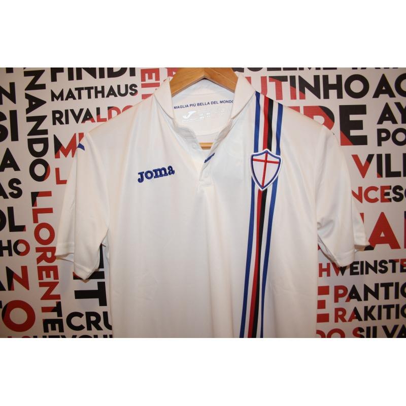 3203c9a90 ... U.C. SAMPDORIA Away Tshirt 18 19 JOMA