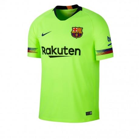 2ª Camiseta del FC Barcelona 18 19 - Nike  4c954eea5d440