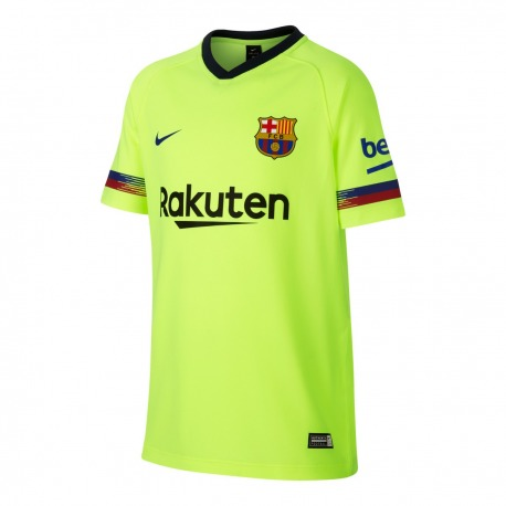 CAMISETA 2ª EQUIPACION FC BARCELONA 18 19 Junior cc03489cd96