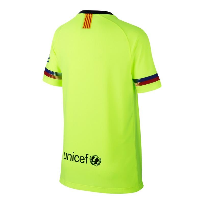 ... Away FC BARCELONA Tshirt 18 19 Kids ... e5bd4a50d8f68