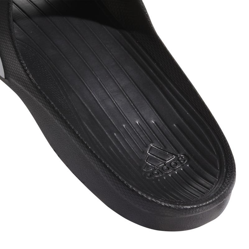 0ee968998 ... Black ADIDAS DURAMO SLIDE Flip Flops ...