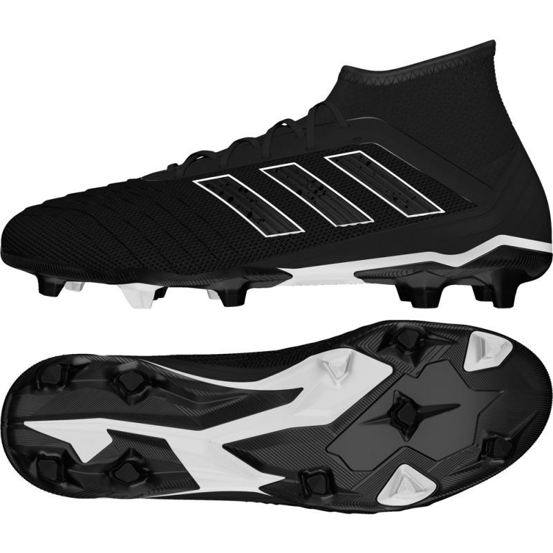 wholesale dealer d208e be4b5 ... Botas de Fútbol ADIDAS PREDATOR 18.2 FG en color negro ...