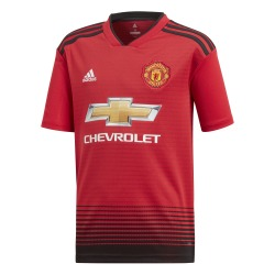 Manchester United HOME T-Shirt 18/19 - Adidas Junior
